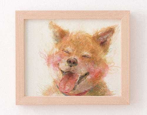 柴犬 似顔絵 作家マッキー