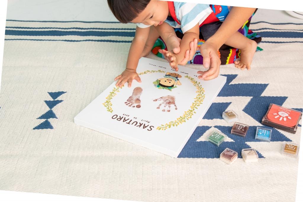 手形足形アート ぐりこTOYシリーズ 赤ちゃん
