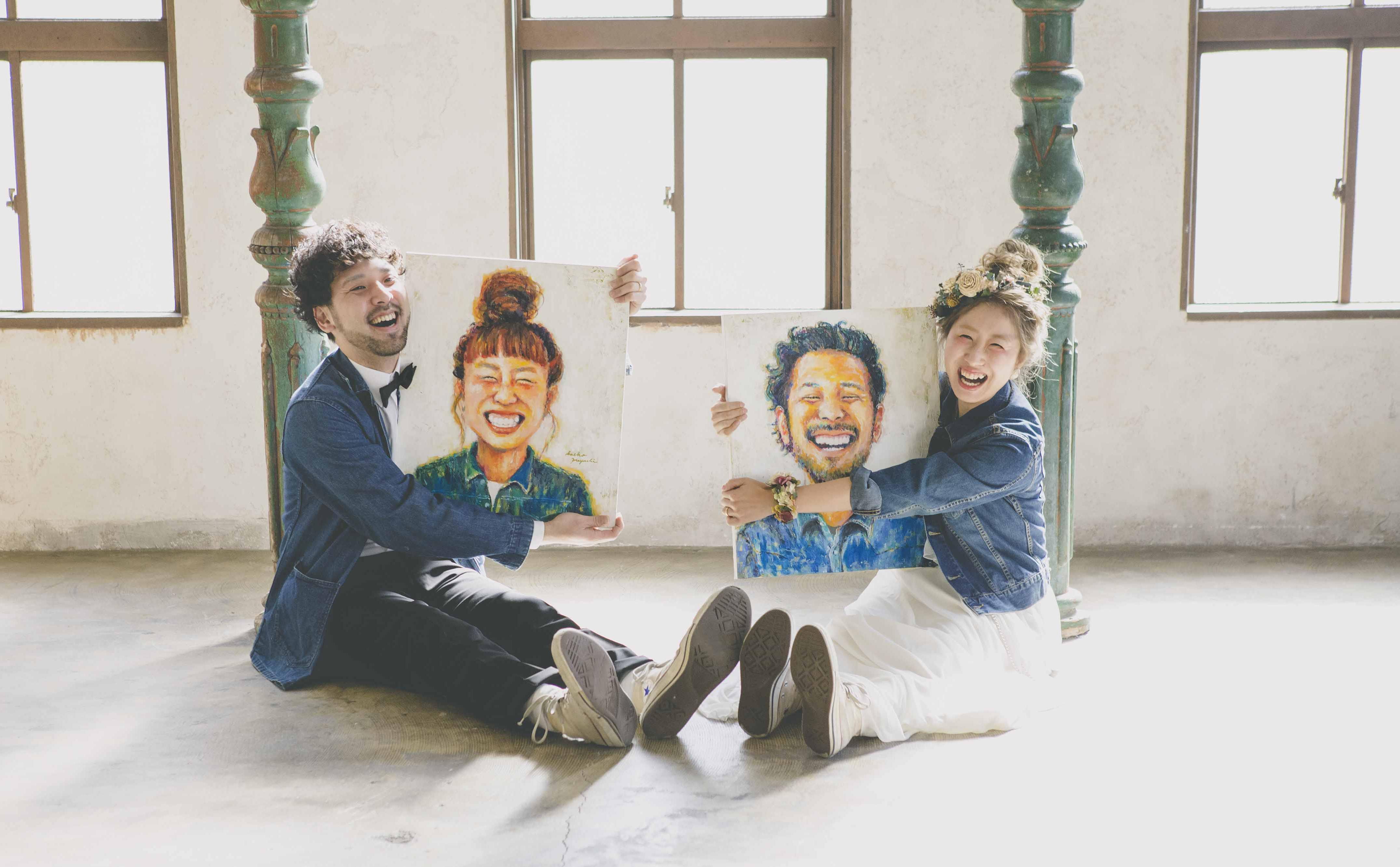 作家Saeko GRAND WEDDING ウェルカムボード フォトウェディング